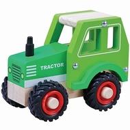 Tractor met rubberen wielen